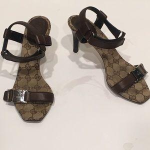 🔥Sale🔥Gucci Monogram Sandals size 37.5